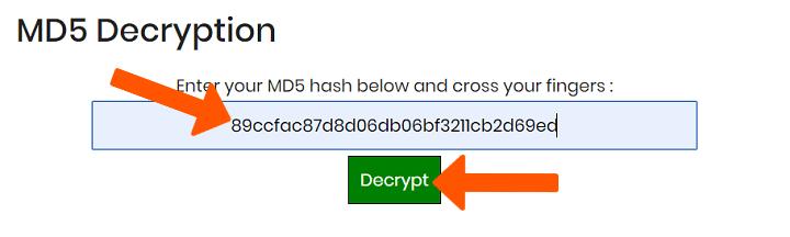 Cara Deskripsi File MD5