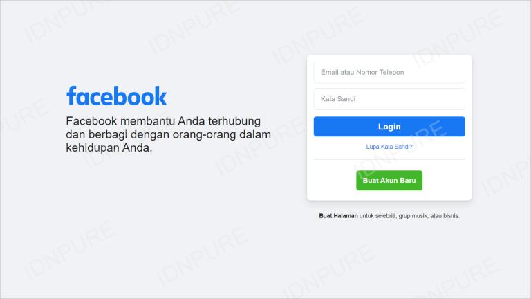 Unbind Akun FF dari Facebook FB